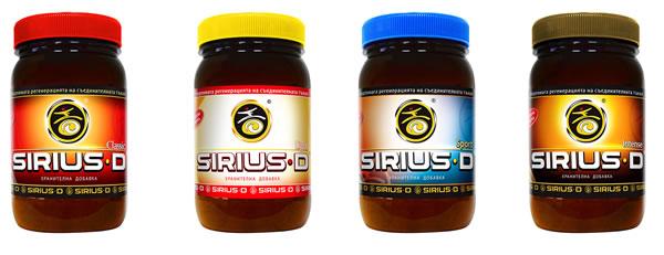 Сириус Д / Sirius D Състав